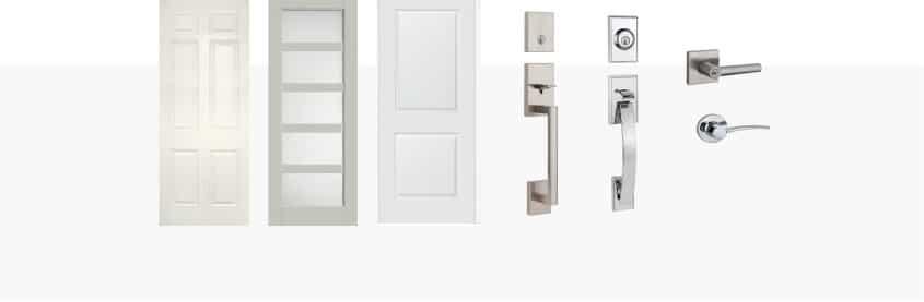 DOORS, HARDWARE + INTERIOR PAINT